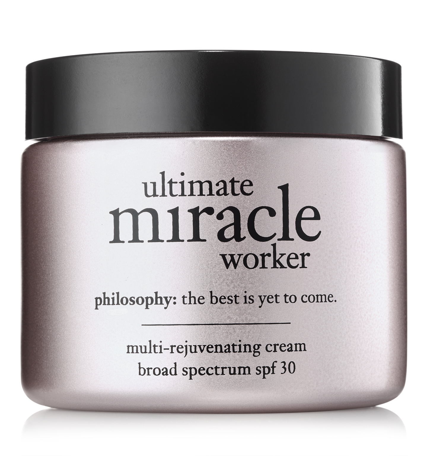 philosophy, ultimate miracle worker spf 30 2oz. moisturizer