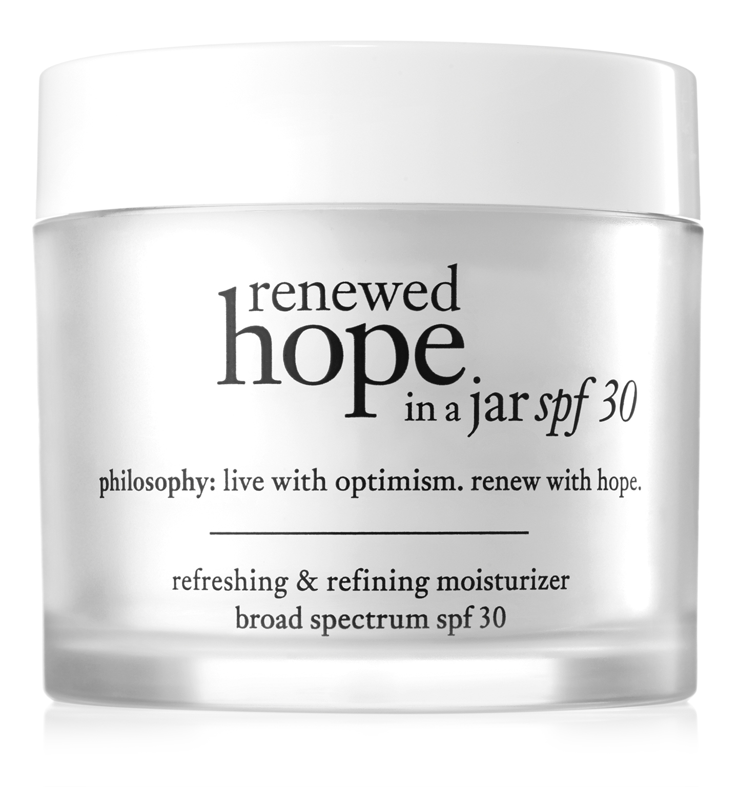philosophy, renewed hope in a jar spf 30