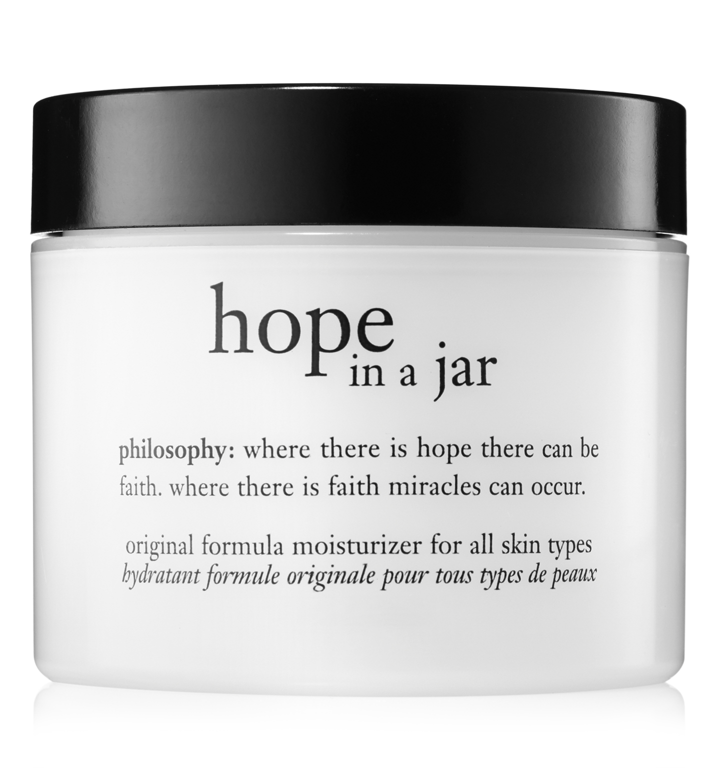 philosophy, hope in a jar moisturizer