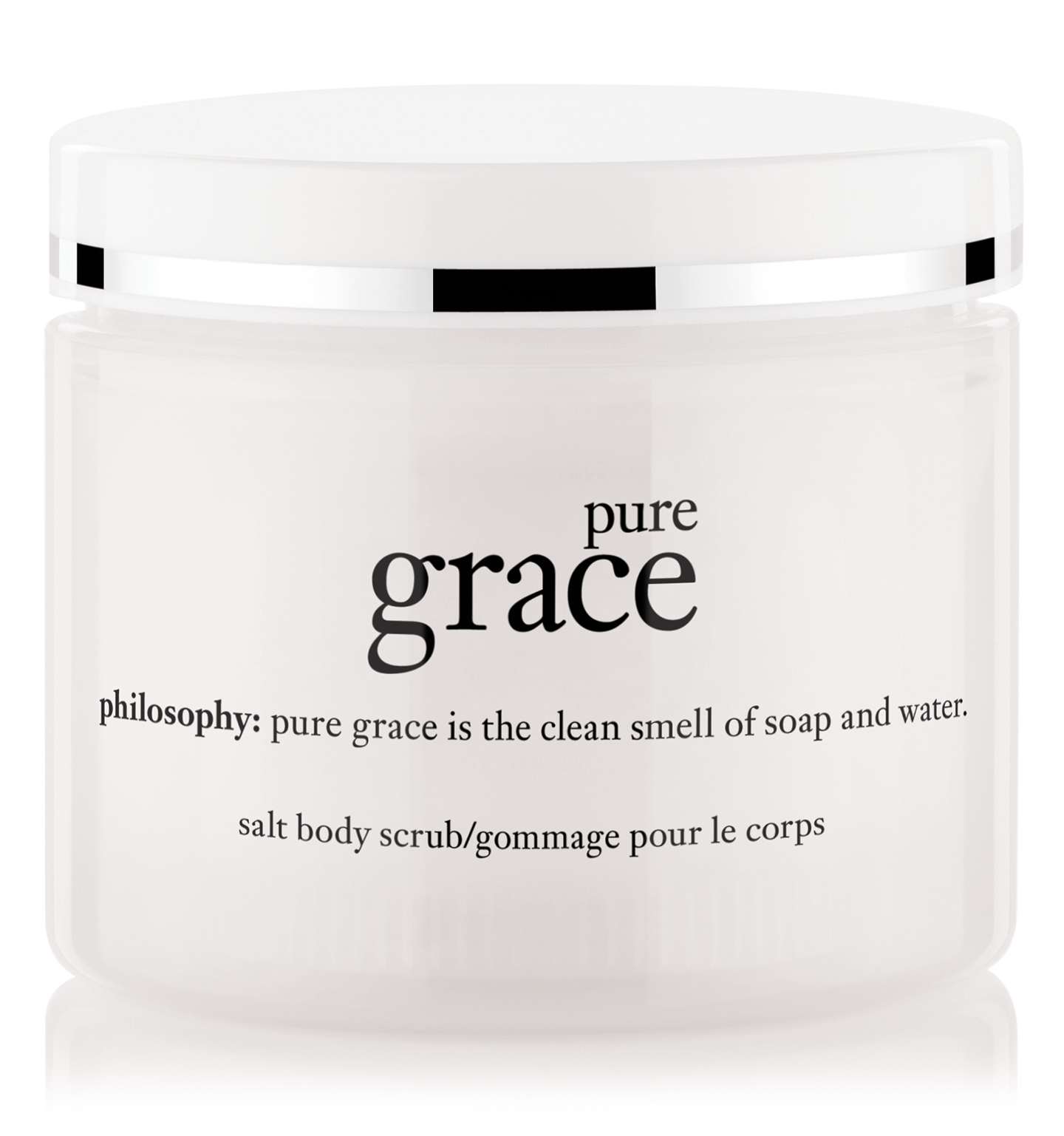 philosophy, pure grace salt scrub