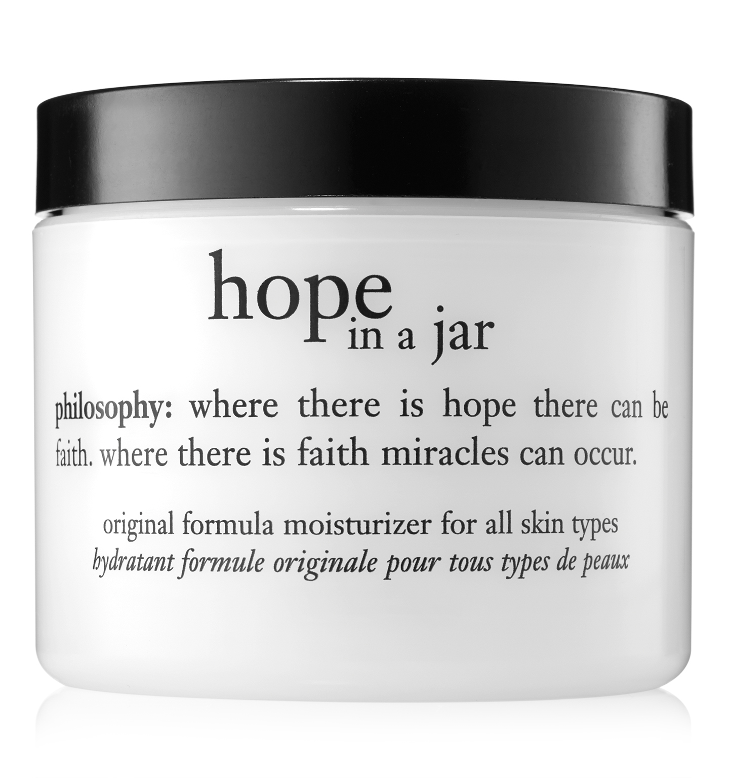 philosophy, hope in a jar 4oz. moisturizer
