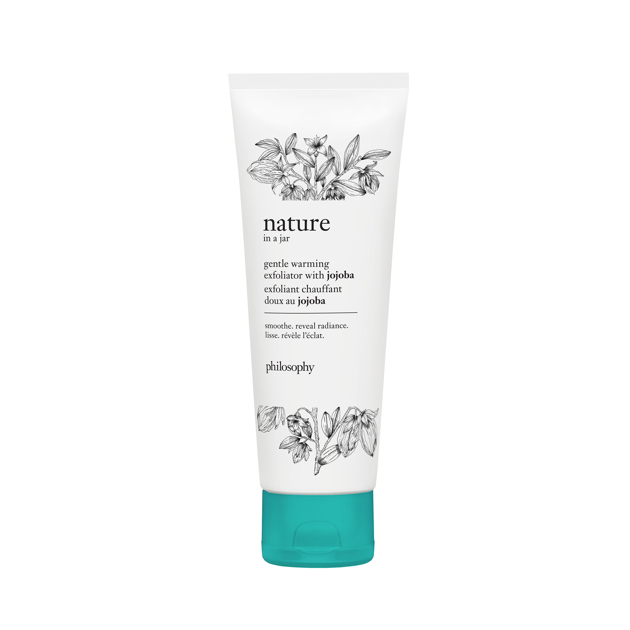 nature in a jar gentle warming exfoliator with jojoba