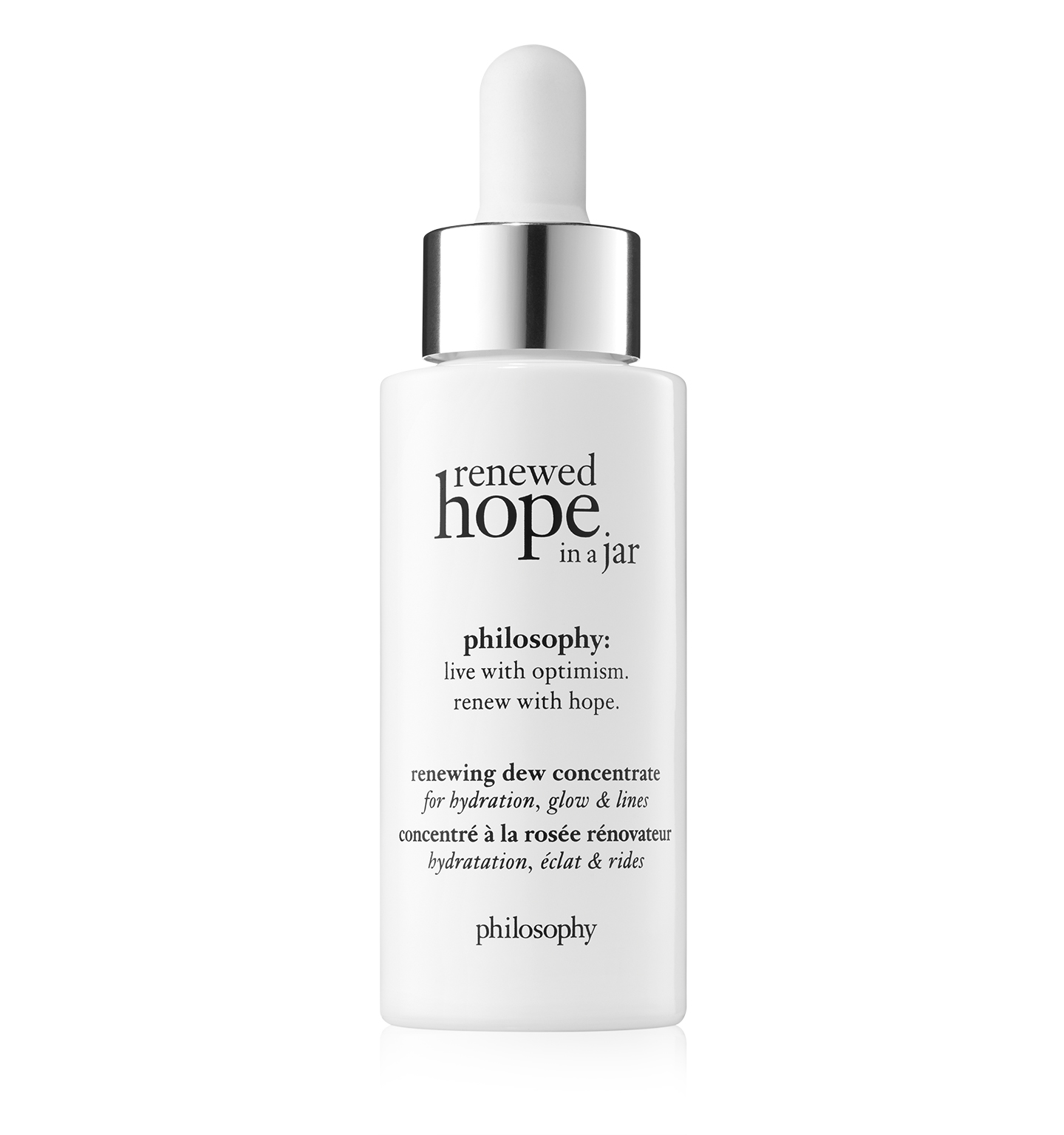 renewed hope in a jar renewing dew facial serum