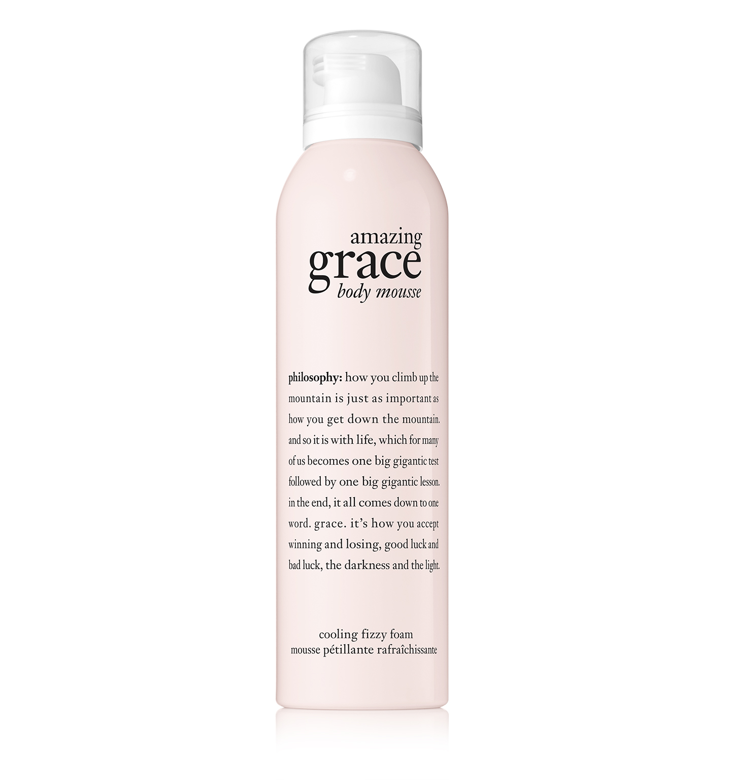 amazing grace body serum mousse