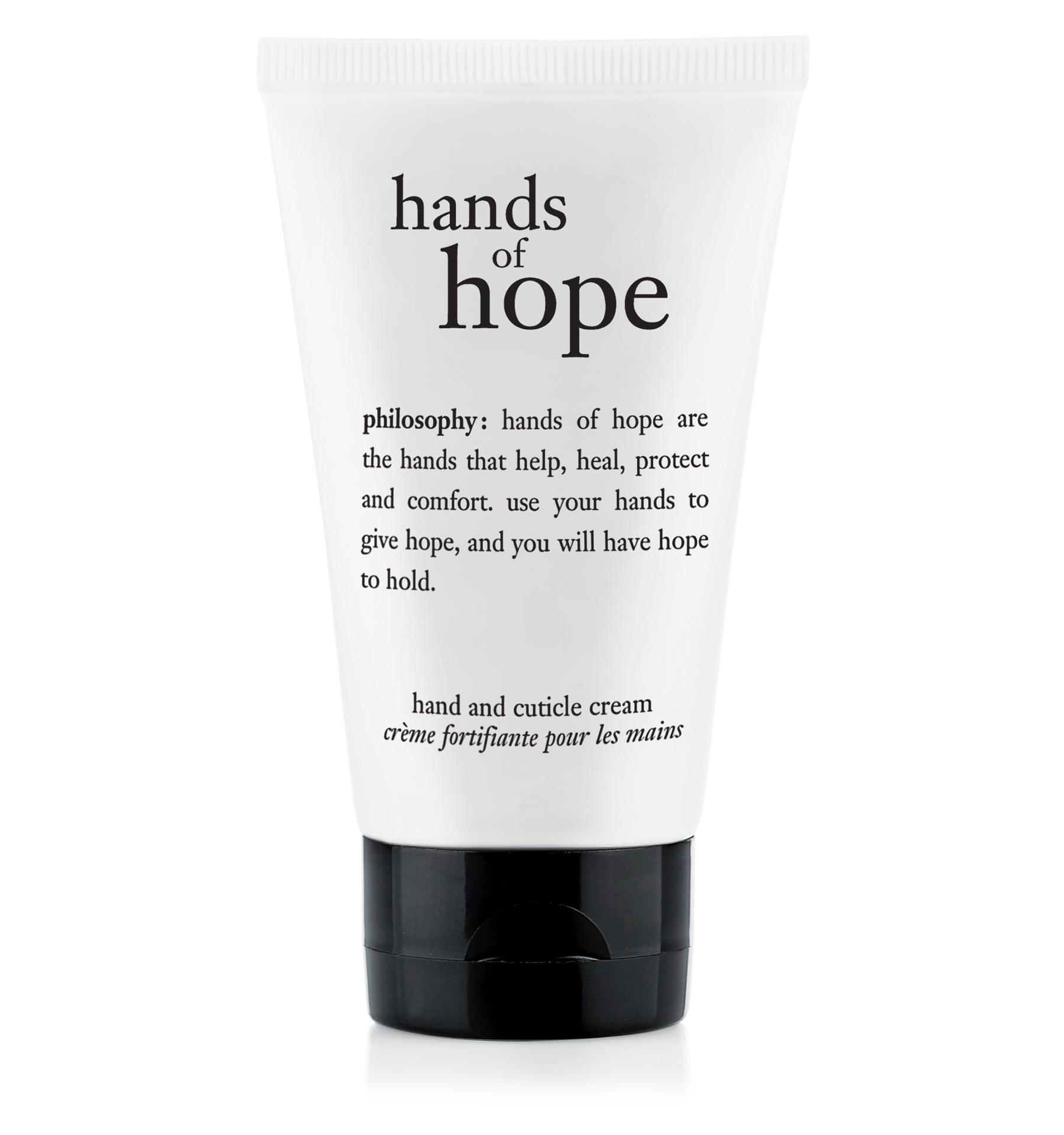 philosophy, hands of hope hand cream