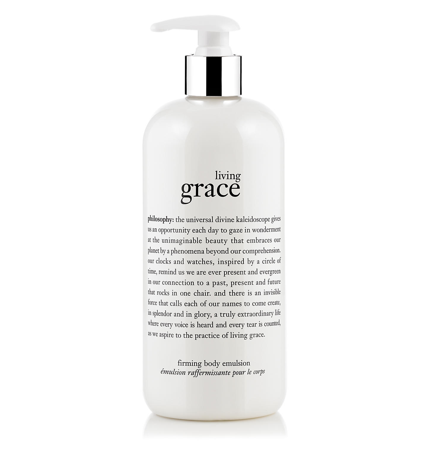 living grace firming body lotion