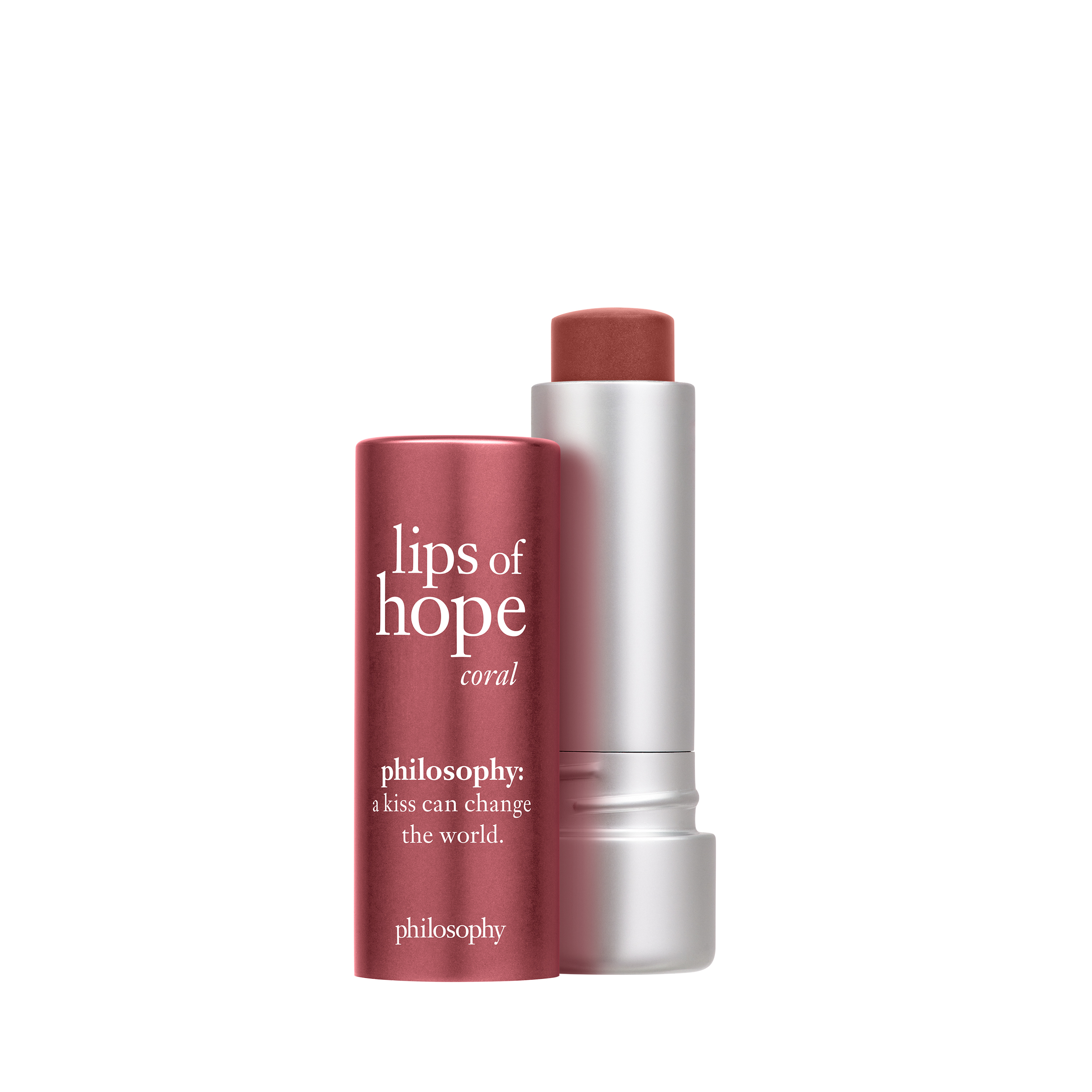 philosophy, lips of hope coral