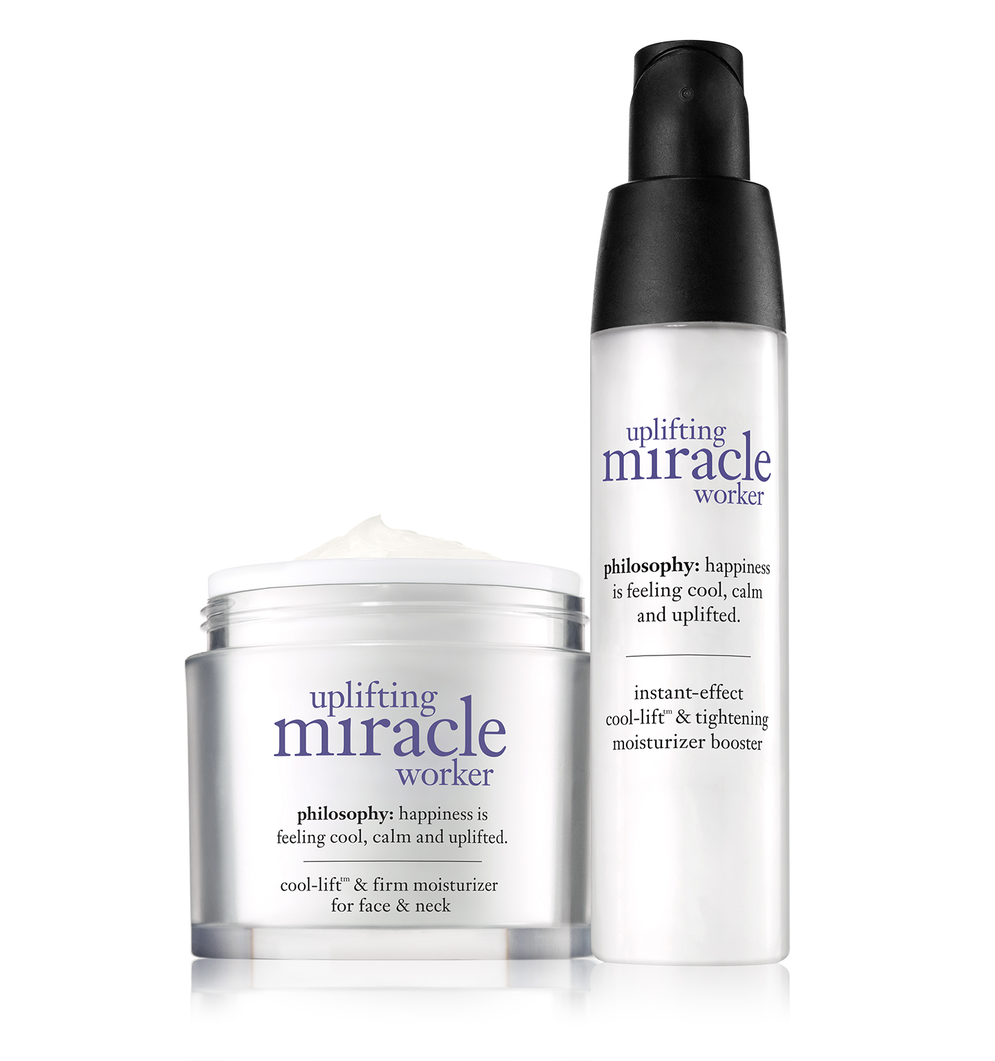 philosophy, uplifting miracle worker face duo