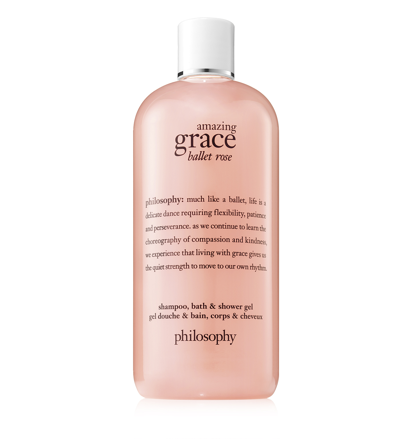 philosophy, amazing grace ballet rose shower gel