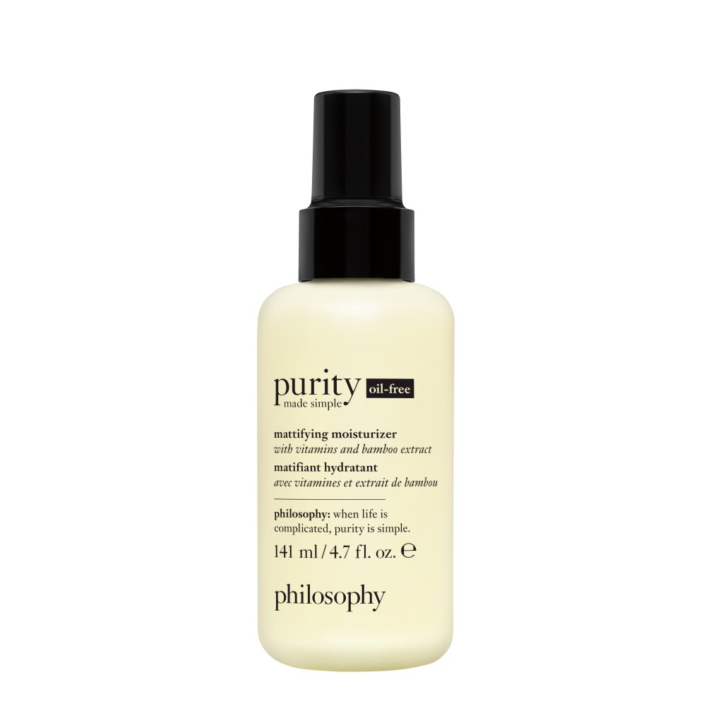 purity made simple oil-free moisturizer