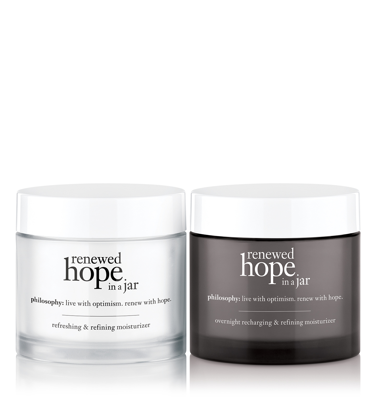 renewed hope in a jar day & night moisturizer duo