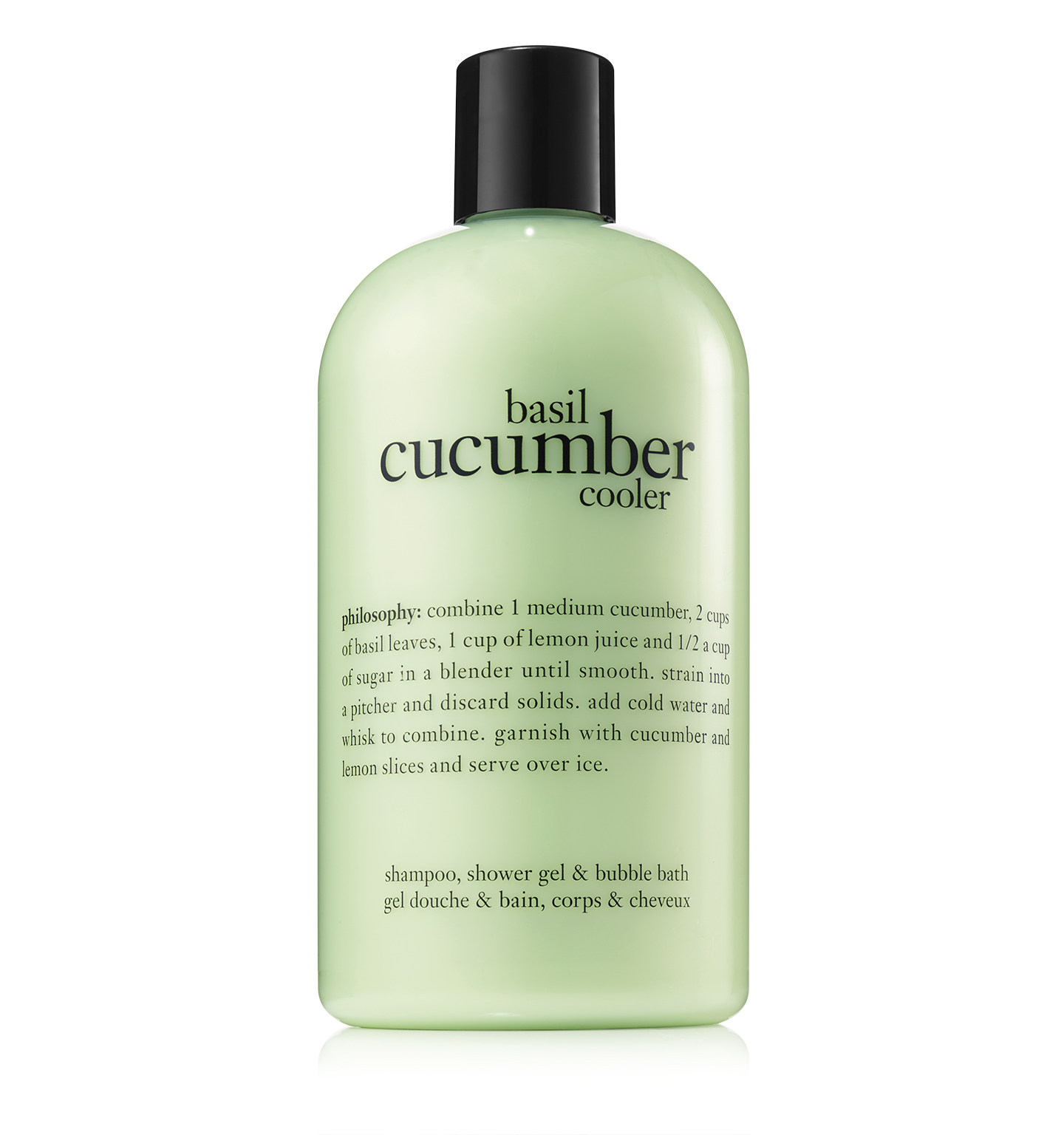 philosophy, basil cucumber cooler shower gel