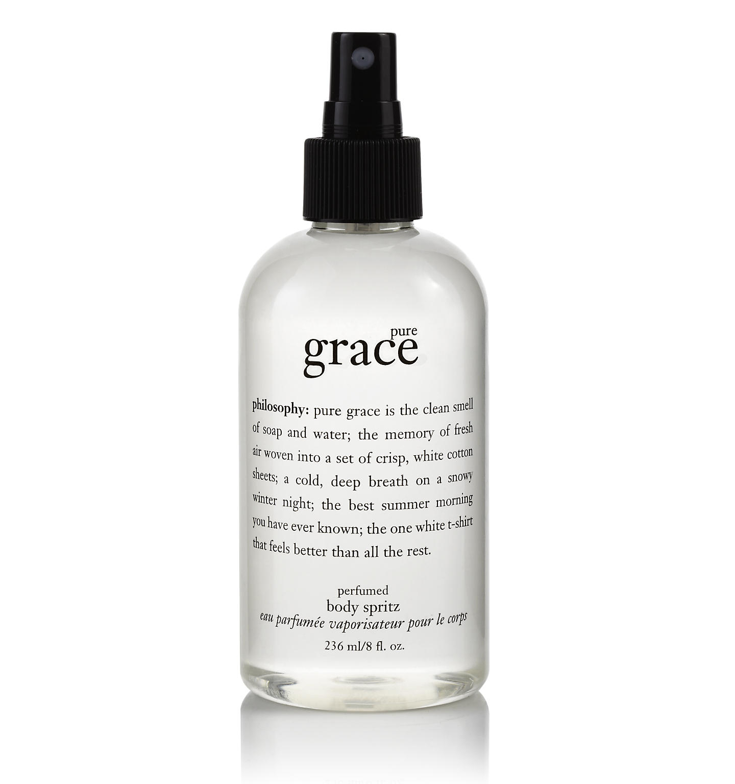 philosophy, pure grace body spritz