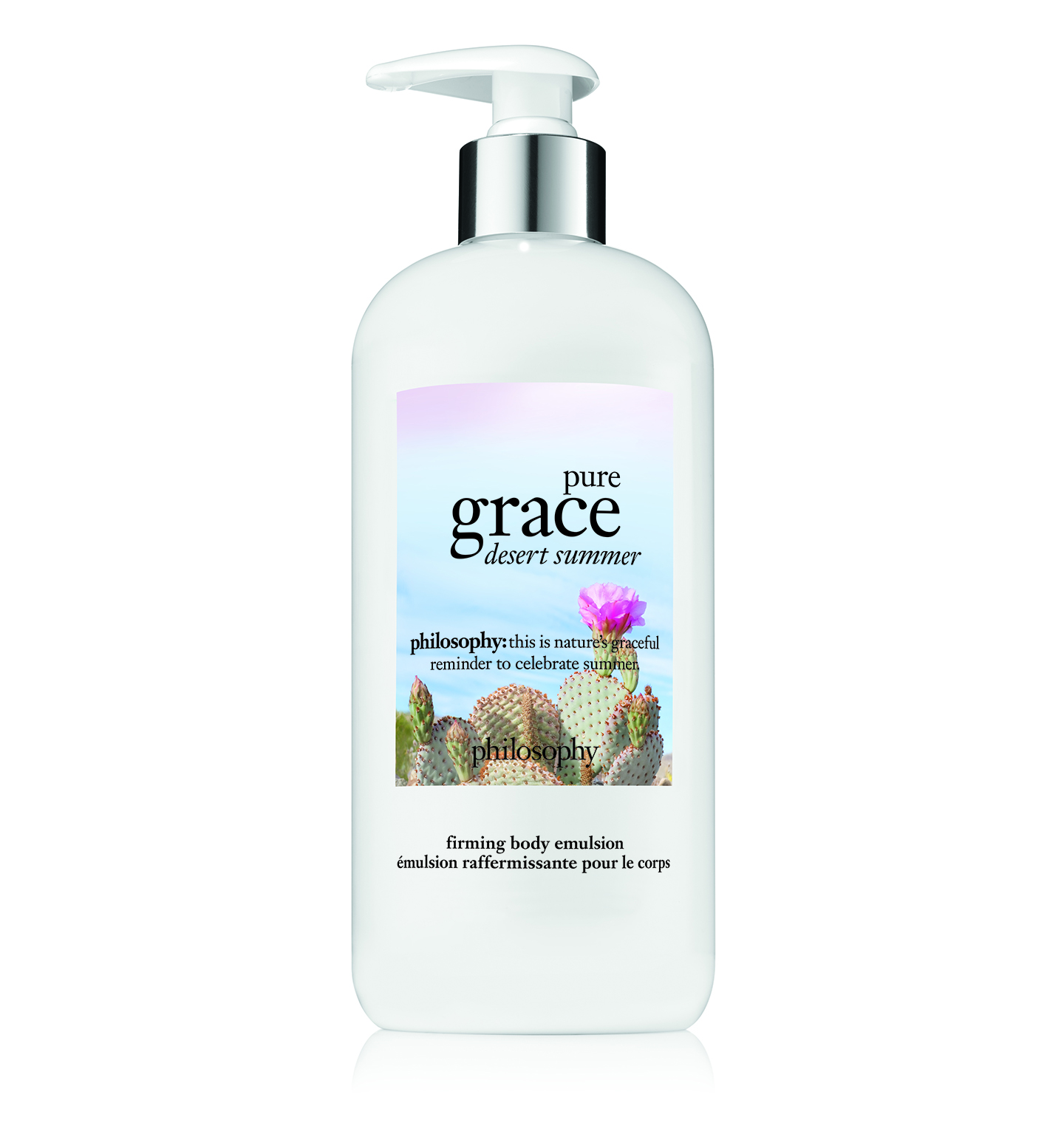 philosophy, pure grace desert summer firming body emulsion