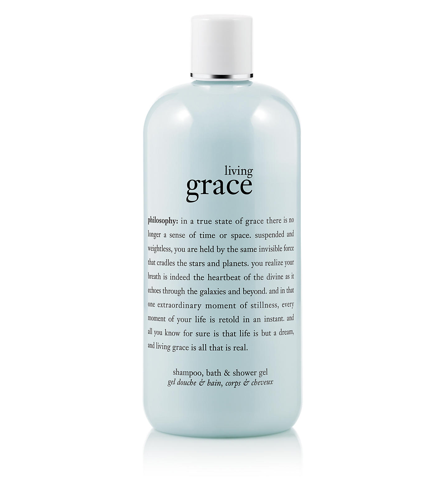 living grace shampoo, bath & shower gel