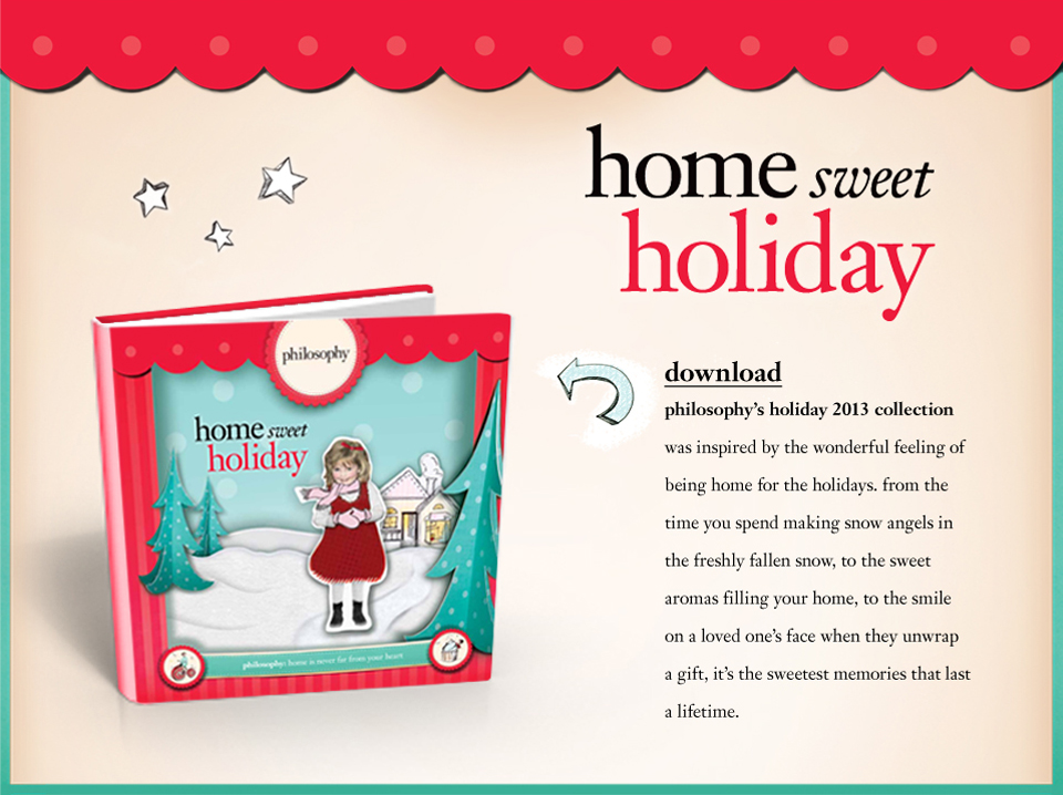 Holiday 2013 Landing Page Image