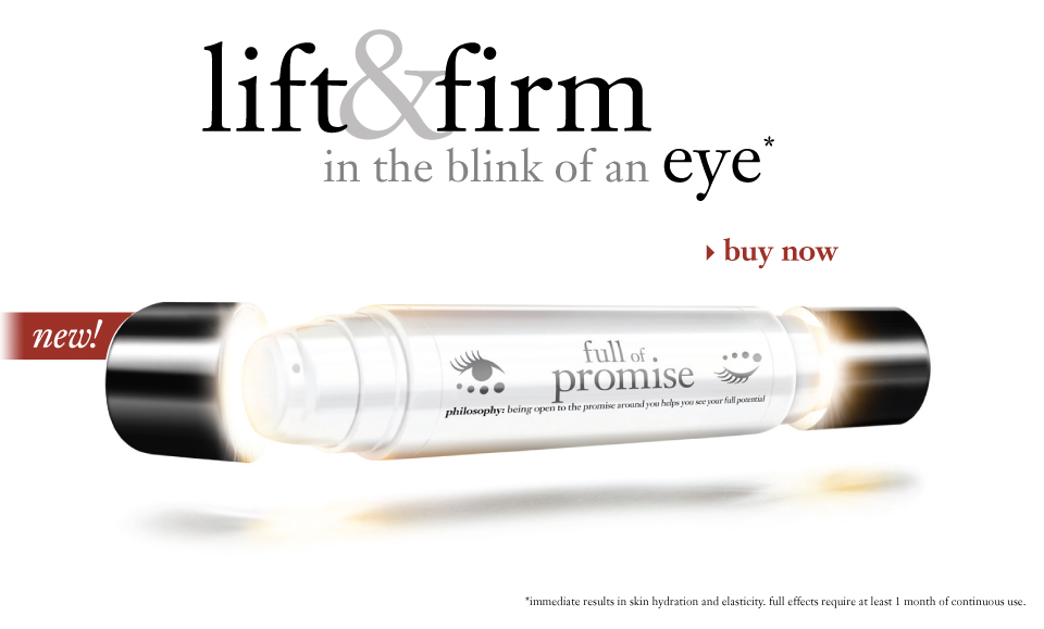lift & firm in the blink of an eye